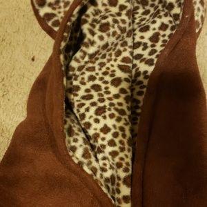 Tiger pattern hoodie